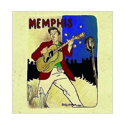 Elvis Presley Memphis Greeting Birthday Card Any Occasion Album Cover Official