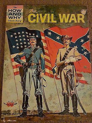 The HOW and WHY Wonder Book of THE CIVIL WAR  1961 #5017