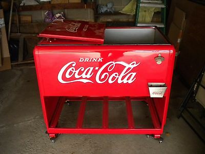 1939 Coca Cola Westinghouse Chest Soda Cooler Fully Restored Inside & Out