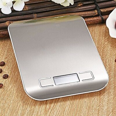 Digital Kitchen Scale 1-5000 g Diet Food Compact Kitchen Scale 0.1 - 176 oz