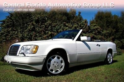 1994 Mercedes-Benz E-Class  1994 MERCEDES-BENZ E320 CABRIOLET BEAUTIFUL COLORS! 68K LOW MILES FLORIDA! CLEAN