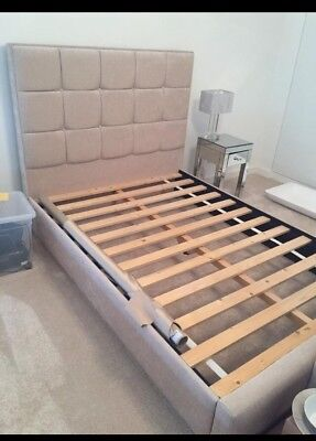 Upholstered Double Bed