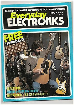 Everyday Electronics Magazine. March 1982  -  Citizens Band in the UK.