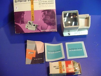 Pana-Vue Automatic R 2x2 Slide Viewer Built - In Battery Recharger