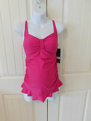 Ladies Maternity Swimsuit Size S Small Oh Baby By Motherhood New With TAGS