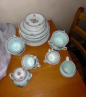 Adams Calyx Ware Vintage SET OF FORTY-TWO (42) PIECES Chelsea Sprays 6163