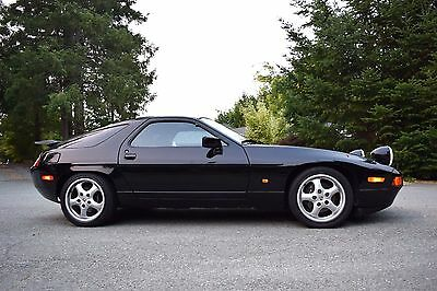 1987 Porsche 928 S4 Coupe 2-Door Porsche 928S4 Black Metallic Automatic 1987 928 S4 Flip Spoiler