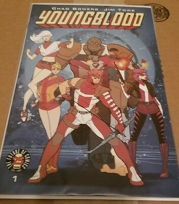 Image Comics YOUNGBLOOD #1 25th Anniversary Blind Box Color RARE Variant