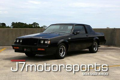 1987 Buick Grand National Base Coupe 2-Door 1987 Buick Grand National 7k miles