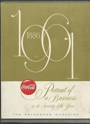 COCA COLA HISTORY 1886-1961,1st, 92p & 1959 50 Anniversary Issue THE BOTTLER (2)