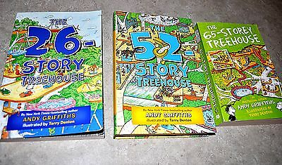 The Treehouse Bks.: The Treehouse Books set of 3 by Andy Griffiths