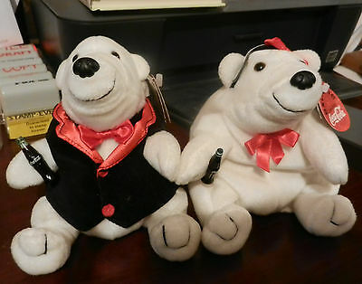 Coca-Cola Exclusive Two Bears 1998 Collectable