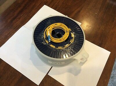 Fujikura 25.2 Km Bare Fiber Optic Test Reel / Otdr / Fusion Splicer Tech Tool