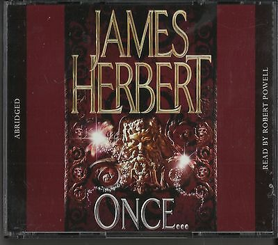 Once by James Herbert  read by Robert Powell Audio Cd