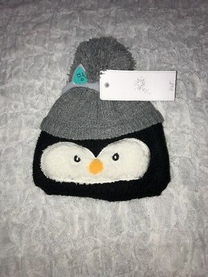 Baby Boy Bobble Hat Size 6-12 Months