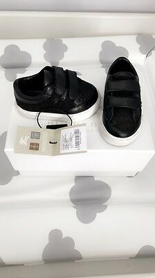 Baby Boy Burberry Infant Shoes Trainers Size 17 Uk1