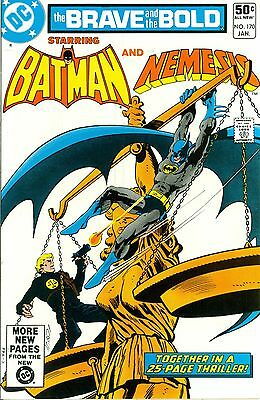 The Brave and the Bold #170. Jan 1981. DC. Batman and Nemesis. FN/VF.