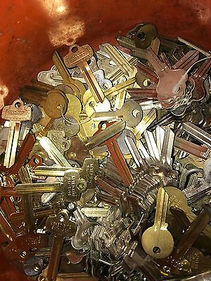 Key Blank Lot 5+ Lbs! New, Old, Auto, House, Commercial. Great Lot!