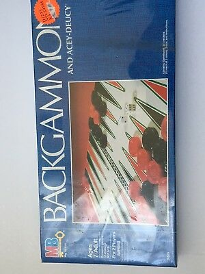 Vintage Backgammon And Acey-Deucy Board Game