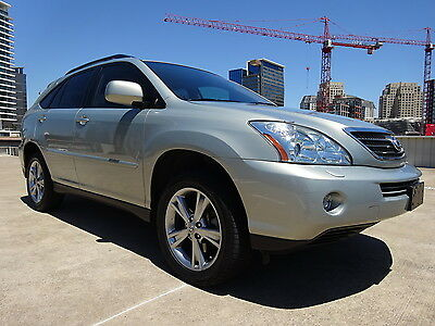 2007 Lexus RX 400H 2007 LEXUS RX400H HYBRID FWD V6 3.3L LEATHER ALL POWER NAV BACK UP CAM WARRANTY