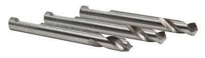 Pack of 3 HOUGEN 13007C Sheet Metal Holcutter Pilot Drill