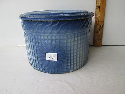 Antique Butter Crock with Lid