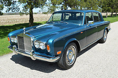 1979 Rolls-Royce Silver Shadow - II 4 door sedan The Park-Ward Motors Museum - America's number 1 classic Rolls-Royce supplier.