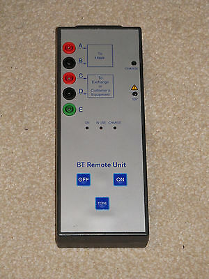 BT Engineers Hawk Tester Remote Unit Tested And Working Please Read Description