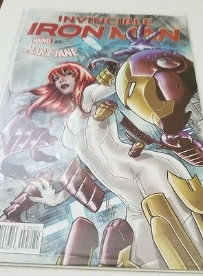 Invincible Iron Man #8 Comic Marco Checchetto Mary Jane Variant - Great Cover
