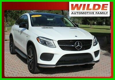 2016 Mercedes-Benz Other GLE 450 AMG® 4MATIC® (A9) 2016 Mercedes Benz GLE 450 AMG 4MATIC Turbocharged 3.0L V6 24V Automatic AWD SUV