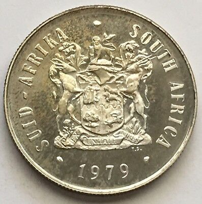 1979 South Africa 1 Rand Silver Proof Coin KM# 88 (L398)