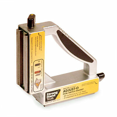 Strong Hand Tools, Welding Magnet Square 90°,  MS2-90 Dual Switch On/Off