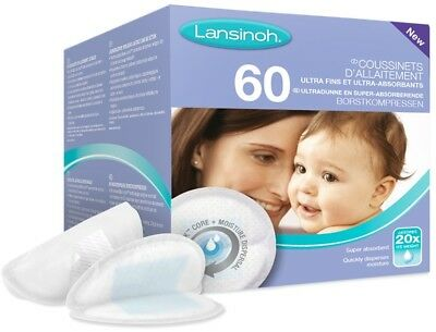 Lansinoh Disposable Nursing Pads 60 Pieces Piece Pack Breast Maternity