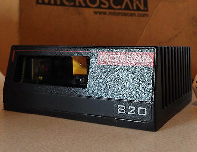 1 New Microscan Fis-0820-0001G Ms 820 Laser Scanner ***make Offer***