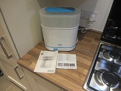 Philips Advent 3 in 1 electric steam steriliser