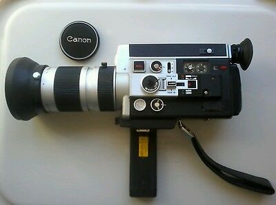 Vintage=Canon 1014 Electronic=Super 8=Movie Camera=As New=Working=Without Case=