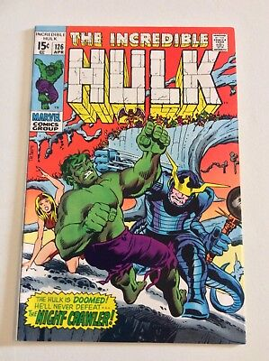 Incredible Hulk #126 HIGHER GRADE 1st App Barbara Norris Valkyrie Ragnarok Movie