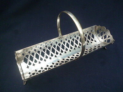 Silver Plated Biscuit Basket / Rack