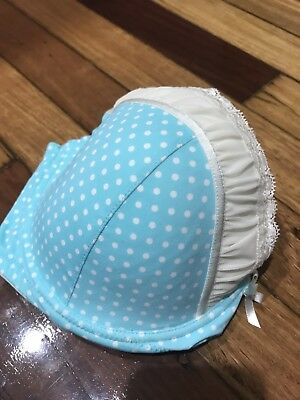Teal And Lace Size 12E Bra