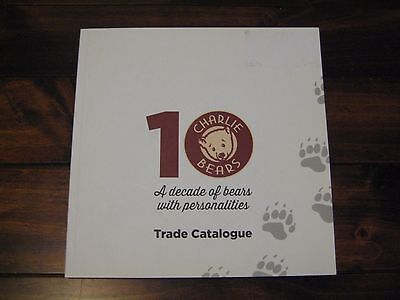 Charlie Bears 2016 Trade Catalogue