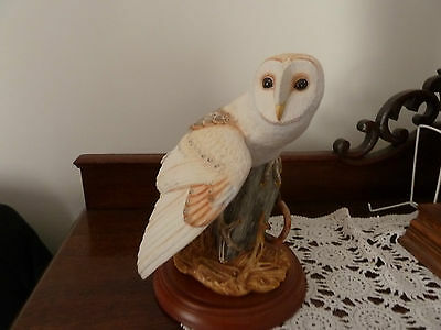 The Barn Owl hand crafted by hand by George Mcmonigle.