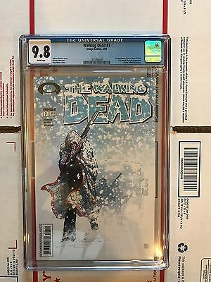 The Walking Dead #7 CGC 9.8 First Print! (April 2012, Image) First Tyreese!