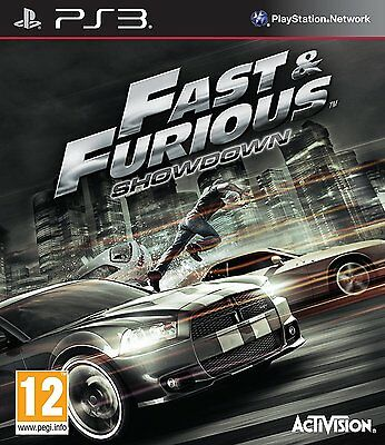 PS3 PlayStation 3 Fast and Furious Brand New Sealed Game