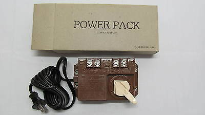 Bachmann Ind. Model No. 6605 HO Train Transformer/Power Pack New In Box