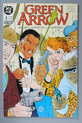 Green Arrow     '88 Series     #6     VF/better