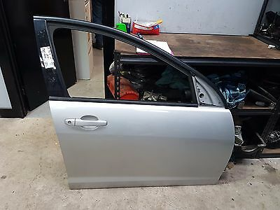Holden Ve Commodore Omega 09 R/hand Front Drivers Door Shell Pc:636R Silver