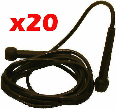 20x skipping ropes 3m skip jump boxing gym BULK BUY NEW