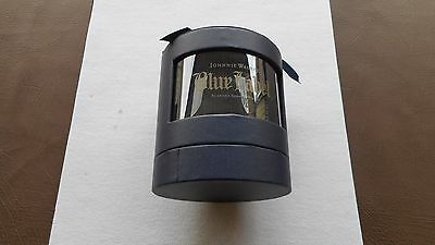 Glass Whiskey Blue Label Johnnie Walker New in Box