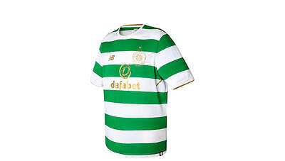 Authentic New Balance Mens Celtic Home Shirt 2017 2018