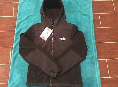 The North Face Replica Black Fleece Hooded Jacket Kids New Tags Polyester Hoodie